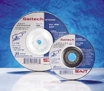 United Abrasives SAIT 20112 4 In. x 1/4 In. x 3/8 In. Saitech Ultimate Performance Grinding Wheel