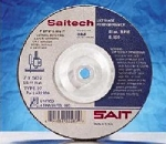 "Sait 9"" x 1/8"" x 5/8-11 Saitech Cutting & Light Grinding Wheel"