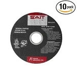 United Abrasives SAIT 23717 Type 27 7-In. x 1/8-In. x 5/8-11 8500 MaxRPM PipelIneLong Life Specialty Grinding Wheels