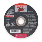 United Abrasives SAIT 23804 Cut-Off Wheel,4.5 d,7/8 hole,rpm 13,300