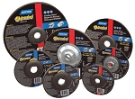 Norton 66252843585 Type 27 Gemini Depressed Center Grinding Wheels 4.5 x 1/4 x 5/8-11