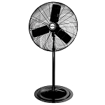 Air King 9125 Osc. Pedestal Fan 24 In.1/4
