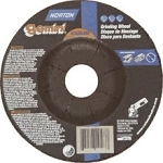 Norton 66252819567 Gemini Stainless Steel Depressed Center Abrasive Wheel, Type 27, Aluminum Oxide