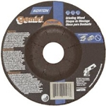 Norton 66252819570 Gemini Stainless Steel Depressed Center Abrasive Wheel, Type 27, Aluminum Oxide
