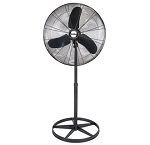 Air King 99533 24 In. Diameter 3 Speed Quiet Pedestal Fan