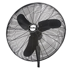 Air King 99538 7450 CFM 30 In. Quiet Oscillating Wall Mount Fan with 3 Speeds and 1/4 Horse Power