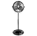 Air King 9418 18 In. 3190 CFM 3-Speed Industrial Grade Pedestal Fan