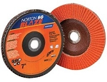 Norton 66261100001 4.5 In. Blaze R980P Ceramic Flap Disc 36 grit