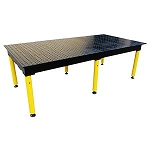 Strong Hand BuildPro TMQA59648F MAX WELDING TABLE 4' X 8' X 36 In. NITRIDED