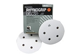 Indasa 5 In. 5 Hole Rhynogrip Indasa Hook and Loop Disc (80-360 grit)
