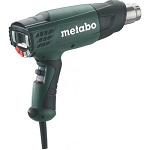 Metabo 602365420 HE23-650 2-Stage Variable Temperature Electronic Heat Gun with LCD Display
