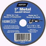 Norton 7660701618 Metal Type 1 Flat Cut Offf Wheel 5