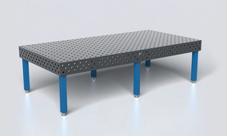 Home Siegmund Welding Tables And Fixtures S2 280040 Xdp Table 118 In X 59