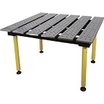Strong Hand BuildPro TMQA54738 Welding Table 47 In. X 38 In. Nitrided