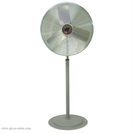Tpi Cacu24 P 24 In Commercial Grade Pedestal Fan With 2