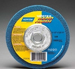 Norton 66254429243 Vortex Rapid FInish Disc 4.5 In. x 5/8-11