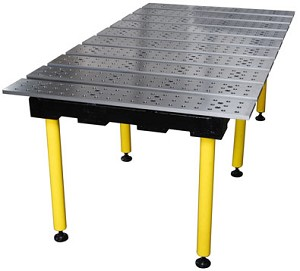 Strong Hand BuildPro TMA57838 Welding Table 78 In. X 38 In.