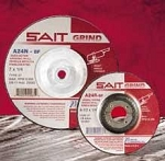 United Abrasives SAIT 20095 9 In. x 1/4 In. x 5/8-11 Depressed Center Grinding Wheel