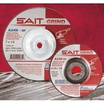 United Abrasives SAIT 20178 6 In. x 1/4 In. x 5/8-11 Depressed Center Grinding Wheel
