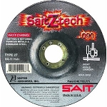 United Abrasives SAIT 20946 7 In. x .090 In. x 7/8 In. Sait Z-Tech Depressed Center Cutting Wheel
