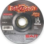 United Abrasives SAIT 20955 6 In. x .090 In. x 5/8-11 Sait Z-Tech Depressed Center Cutting Wheel
