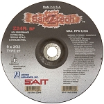 United Abrasives SAIT 22646 9 In. x 3/32 In. x 7/8 In. Sait-Z-Tech Specialty Cutting Wheel