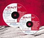 United Abrasives SAIT 23002 2 In. x 1/16 In. x 3/8 In. Thin High Speed Cut-Off Wheels