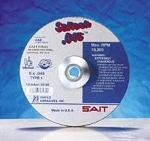 United Abrasives SAIT 23182 6 In. x .045 In. x 7/8 In. Saitech High Speed Cut-Off Wheels