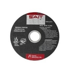 United Abrasives SAIT 23327 6 In. x 045 In. x 7/8 In. Stainless Steel Thin Cutting Wheel