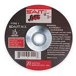 United Abrasives SAIT 23605 5 In. x .045 In. x 7/8 In. T.M.X. Thin High Speed Cut-Off Wheels