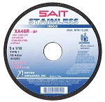 United Abrasives SAIT 24254 Cut-Off Wheel,7 d,7/8 hole,rpm 8500