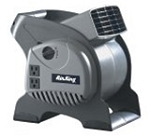 Air King 9550 3-Speed Pivoting Utility Blower with Grounded Outlets