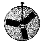 Air King 9335 30 In. 7400 CFM 3-Speed Industrial Grade Ceiling Mount Fan