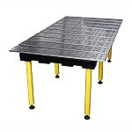 Strong Hand BuildPro TM77838 Aluminum Welding Table, 78 x 38 In.