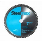 Steelmax BL-07-5-TS 7-1/4 In. Thin Mild Steel Cutting Saw Blade