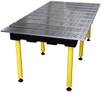 Strong Hand BuildPro TMA77838 Welding Table 78 In. X 38 In. Anondized Aluminum