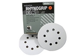 Indasa 5 In. 8 Hole Rhynogrip Indasa Hook and Loop Disc (80-360 grit)