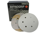 Indasa 6 In. 6 Hole Rhynogrip Hook and Loop Disc (80-360 grit)