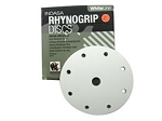 Indasa 6 In. 9 Hole Rhynogrip Hook and Loop Disc (80-360 grit)