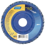 Norton 63642504876 4.5 In. Twinstar Trimmable Flap Disc 36 grit