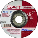 United Abrasives SAIT 20102 3 In. x 1/4 In. x 3/8 In. Grinding Wheel